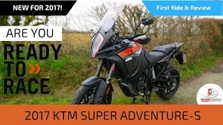 5. 2017 KTM 1290 Super Adventure S - First Ride and Review!