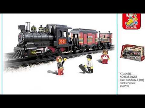 Video Video overview of the Railway Station Atlantis 235 Pieces Lego