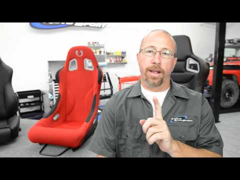 seats - http://www.andysautosport.com/seats.html 1 (800) 419-1152 Andy's Auto Sport presents a video about the differences between reclining and fixed-back seats, as...