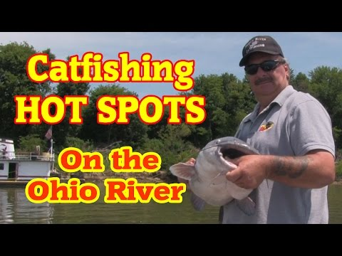 Scouting For Big Catfish On The Ohio River