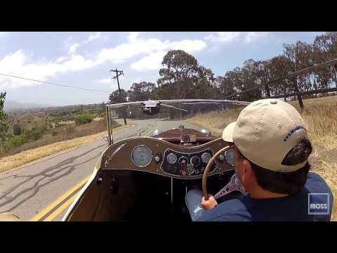 Driving Al Moss' MG TC