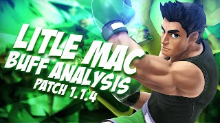 Little Mac Analysis Post Patch 1.14 Buff – Smash Bros Wii U – ZeRo