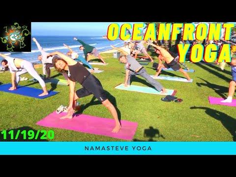 Oceanfront Yoga   Basic Power Yoga   Yoga To The People   Namasteve Yoga
