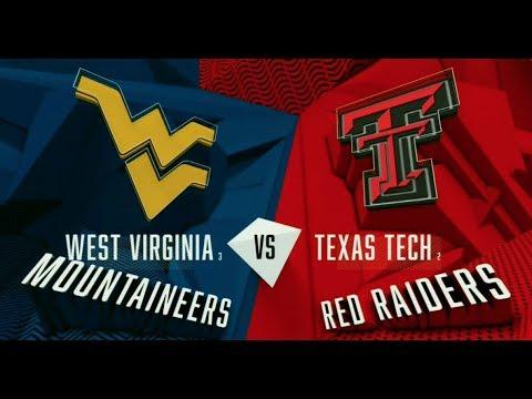 2018 Big 12 Tournament - WVU vs Texas Tech