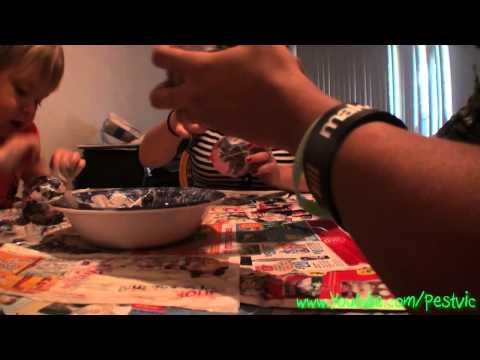 Halloween crafts! Paper Mache pumpkins!  – YTO #67