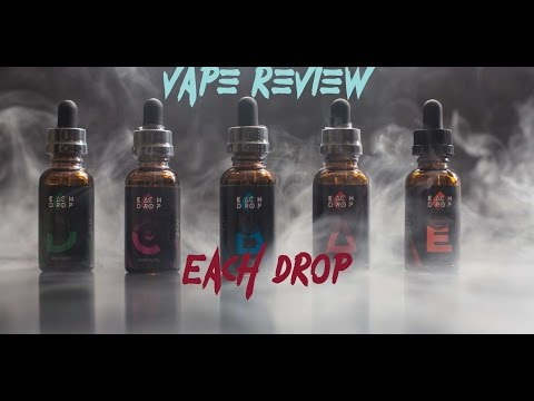 #Each drop Vape Review Неужели что-то действительно новое? /// Neksor