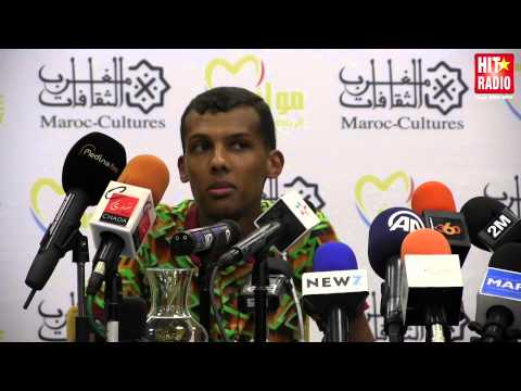 EXTRAIT CONFÉRENCE DE PRESSE STROMAE A #MAWAZINE 2014 SUR HIT RADIO
