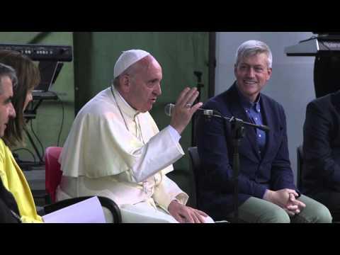 Il discorso di Papa Francesco al Villaggio per la Terra
