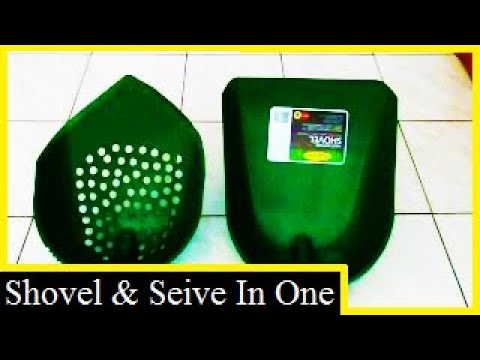 HOW TO MAKE THE ORIGINAL PLASTIC SHOVEL/ SIEVE (Subscribe & share to See More)