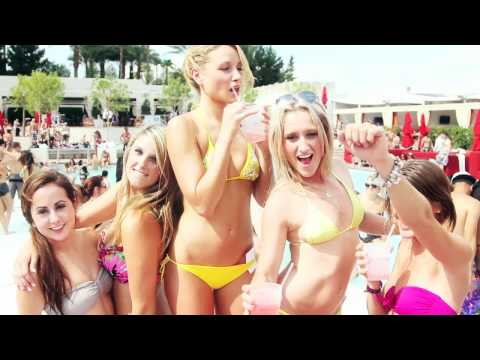 Hot 100 Bikini Contest Selection Party 9 (2011) at Wet Republic Ultra Pool Las Vegas HD Video 720p