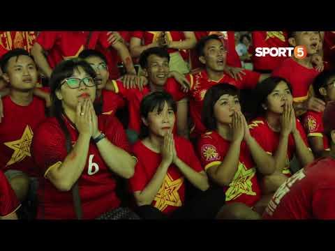 Người hâm mộ U23 Việt Nam tại Hà Nội vỡ òa khi Công Phượng ghi bàn - Thời lượng: 0:53.