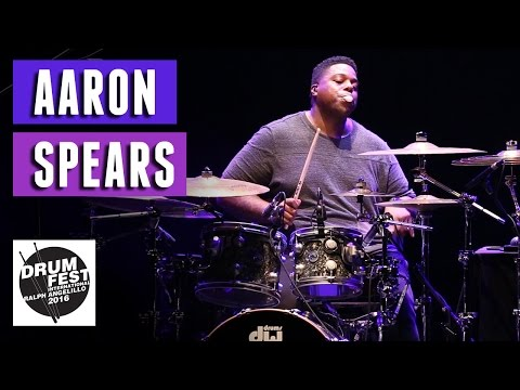 Aaron Spears - 2016 Drum Festival International Ralph Angelillo