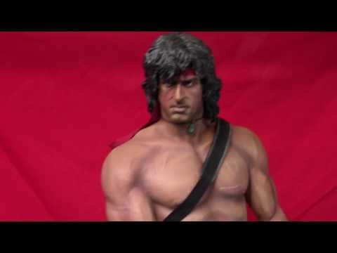 Pop Culture Shock 1/3 Scale RAMBO Review