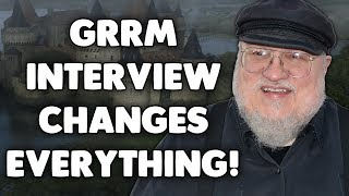 Check out this video that covers the recent George R R Martin interview! His comments about Jon Snow and Beric Dondarrion have the potential to completely change Game of Thrones and ASOIAF as we know it.It will be interesting to see if the comments in this GRRM interview hold any importance on the true meaning of A Song of Ice and Fire, and more importantly if Game of Thrones Season 7 or The Winds of Winter will go into any further detail about the meaning of A Song of Ice and Fire.Game of Thrones News and Game of Thrones Season 7 theory!TIME ENTERTAINMENT INTERVIEW - http://time.com/4791258/game-of-thrones-george-r-r-martin-interview/