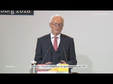 Pressekonferenz mit CDU-Bundesgeschäftsführer Klaus Sch ...