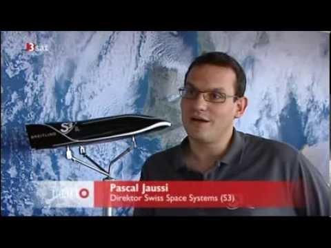 TV-Beitrag über S3: Hier erklärt Jaussi (40) seine Weltraum-Vision