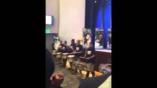 49ers band at StubHub company meeting