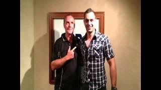 Guest entertainer Phoenix, on Perth's Radio 6pr
