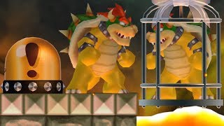 New Super Mario Bros. Wii - Bowser wants to rescue Bowser from Bowser