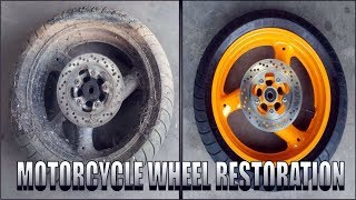 Video Severely Neglected Wheel Restoration MP3, 3GP, MP4, WEBM, AVI, FLV Februari 2019