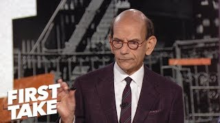 Finebaum: Ohio State is Alabama's only competition for College Football Playoff | First Take | ESPN