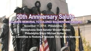 Bill Cosby Veterans Day Keynote - All Wars Memorial To Colored Soldiers & Sailors - 11/11/2014