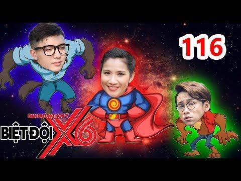 BIỆT ĐỘI X6 | BDX6 #116 | Bi Max - Quang Bảo 'HÓA SÓI' trốn sự truy đuổi của Miko - Sĩ Thanh