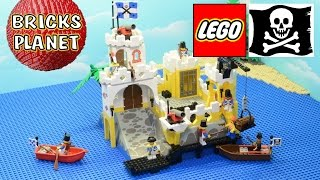 Eldorado Fortress 6267 LEGO Pirates - Stop Motion Review
