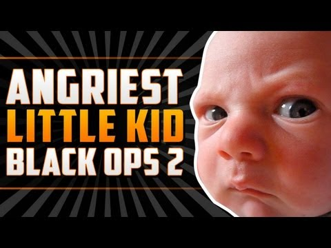 "ANGRIEST LITTLE KID ON BLACK OPS 2 ""1v1 RAGE"""