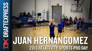 Juan Hernangomez NBA Pro Day Highlights from IMG Academy