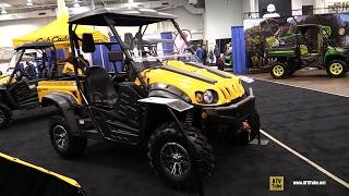 6. 2017 Cub Cadet Challenger 500 Utility ATV - Walkaround - 2016 Toronto ATV Show
