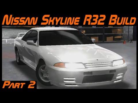 Racing Rivals Car Build   Nissan Skyline R32 Part 2