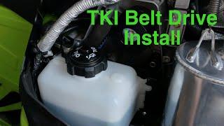 10. 2019-2018 Arctic Cat M8000 TKI Belt Drive Install