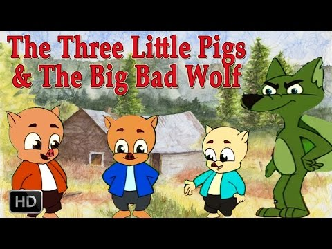 big 3 - Three little pigs is a fairy tale featuring talking animals. This story is about three little pigs, which build home to safeguard them form the Big Bad wolf....