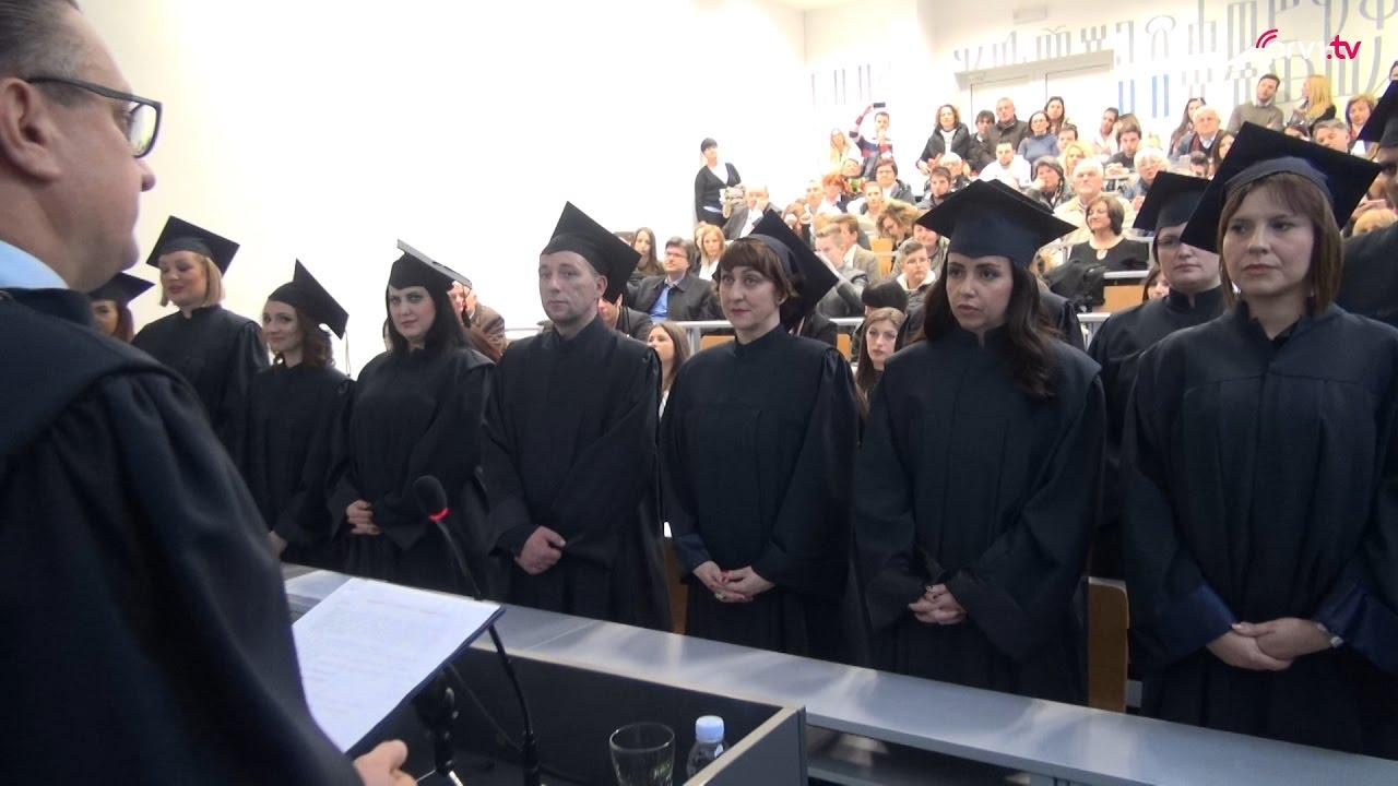 Promovirano 13 magistara i dodijeljene Dekanove nagrade