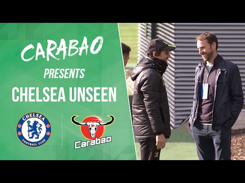 CHELSEA UNSEEN: Southgate visits Cobham, John Terry's party trick, Willian & Pedro meet the fans