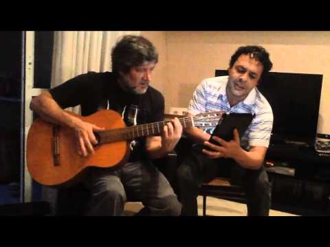 Ivan Pires e Marcos Claudino (George Harrison - My Sweet Lord) Cover