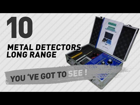 Metal Detectors Long Range // New & Popular 2017