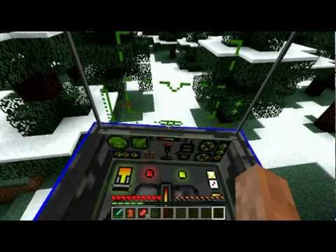 Minecraft Helikopter modu | THX Helicopter Mode 1.2.5