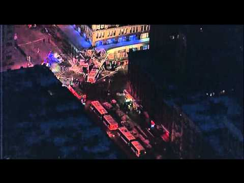 VIDEO: 1 Dead, 5 Injured After Bus Slams into NY Building
