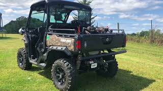 4. Can am defender XT HD10 accessories; hunting rig