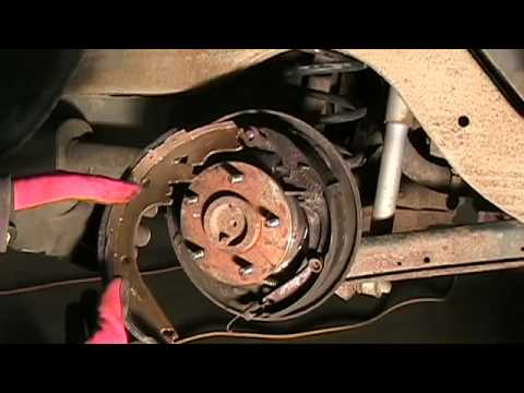 how to change drum brake pads on a car