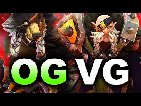 OG vs VG - NEVER GIVE UP! - ESL KATOWICE MAJOR DOTA 2 (видео)