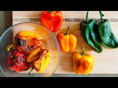 3 metodi per arrostire perfettamente i peperoni!
