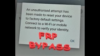 Video How to bypass FRP Factory Reset Protection on Samsung devices without any PC or OTG - Version 6.0.1 MP3, 3GP, MP4, WEBM, AVI, FLV September 2019