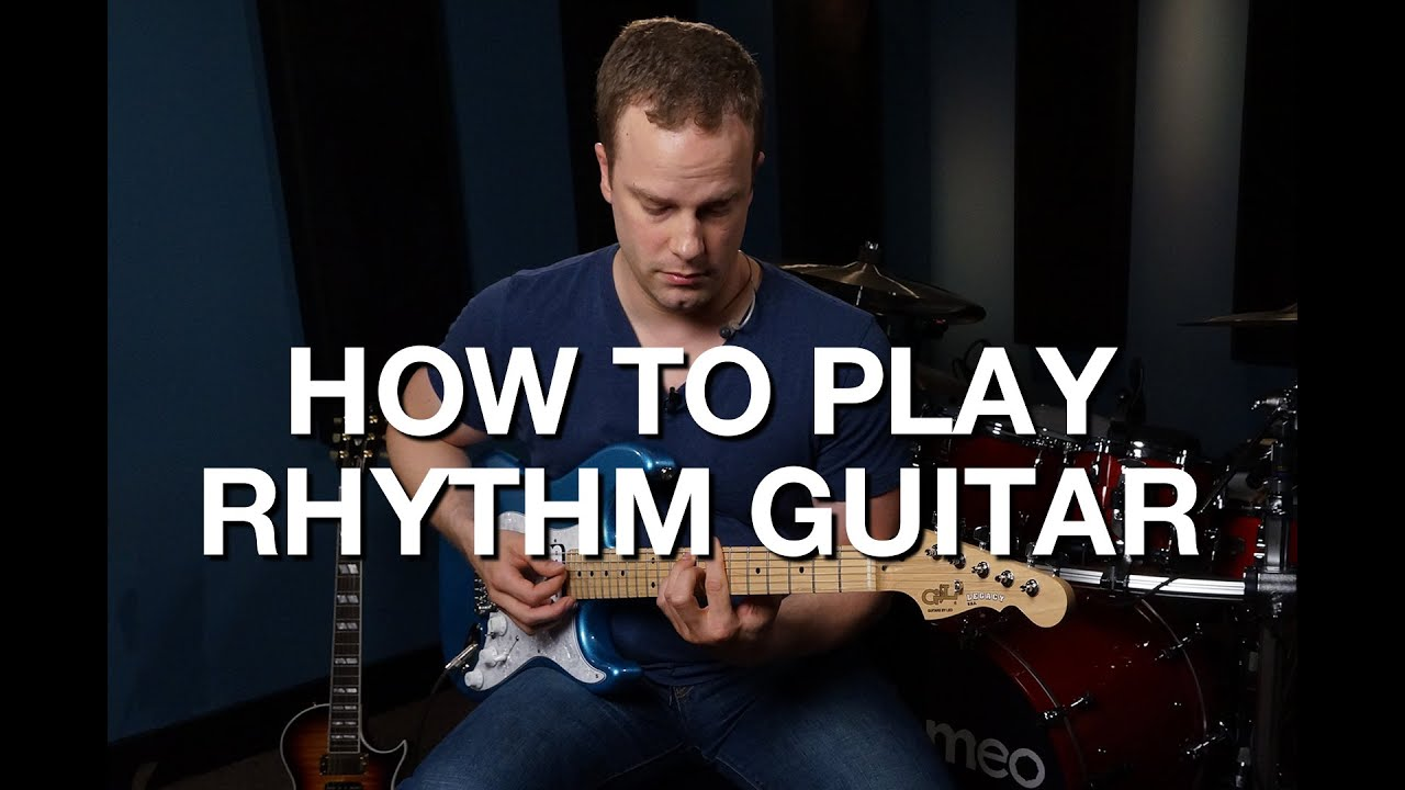 How To Play Rhythm Guitar – Rhythm Guitar Lesson #1