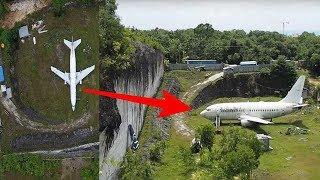 Video Orang² Heboh !! Tiba² Ada Pesawat di bukit ini, Saat didekati Ternyata... MP3, 3GP, MP4, WEBM, AVI, FLV September 2018