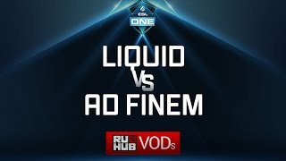 Liquid vs Ad Finem, ESL One Genting Quals, game 1 [LightOfHeaveN, Jam]