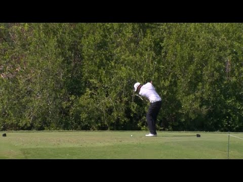 Tony Finau Makes an Epic Shot During OHL Classic's Round Two!