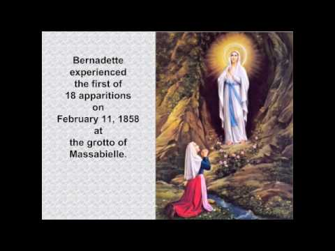 Saint Bernadette Slideshow
